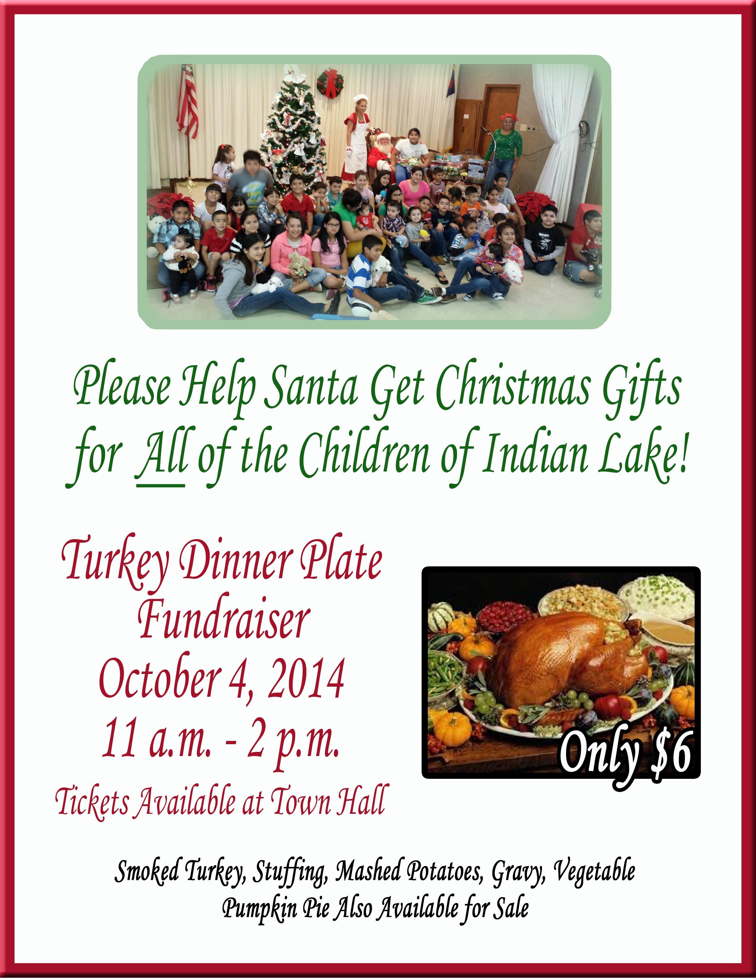 Turkey Dinner Fund Raiser web